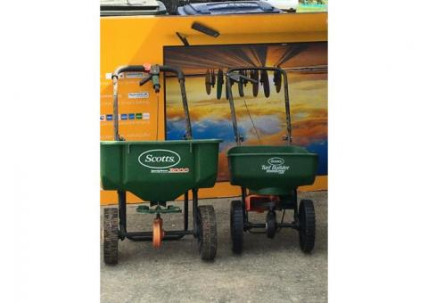 Scott's Lawn spreaders